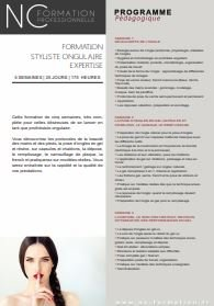 Programme Formation prothésie ongulaire 5 semaines